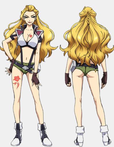 Cross Ange Tenshi to Ryuu no Rondo anime character Zola haruhichan.com-クロスアンジュ 天使と竜の輪舞-Fall-2014-anime 1