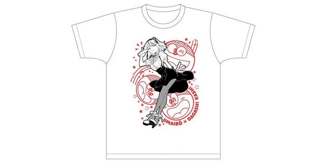 Dagashi Kashi Anime Promoted at Comiket 89 with Fake Cigarettes t-shirt