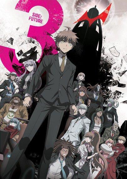 Danganronpa 3 Anime Visuals for Both Arcs Revealed