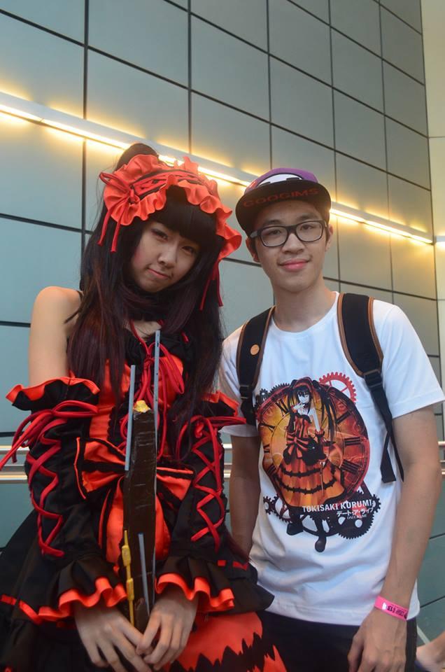 Date A Live Cosplay Shirt Shoukochan Tokisaki Kurumi