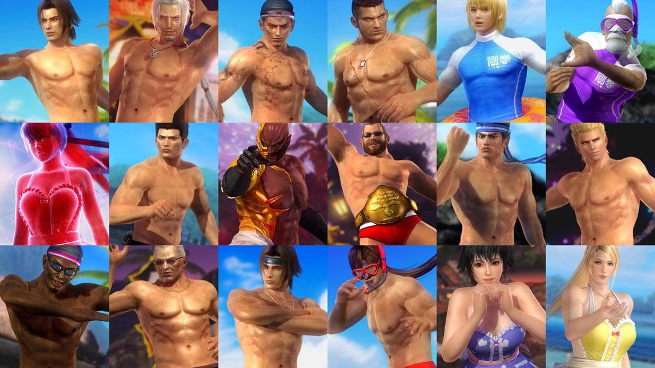 Dead or Alive 5- Last Round Gets Romantic with Valentine's Costumes 0036