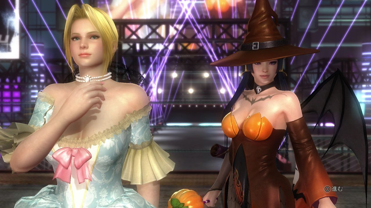 Dead or Alive 5 Last Round Gets Spooky with Halloween Costumes 15