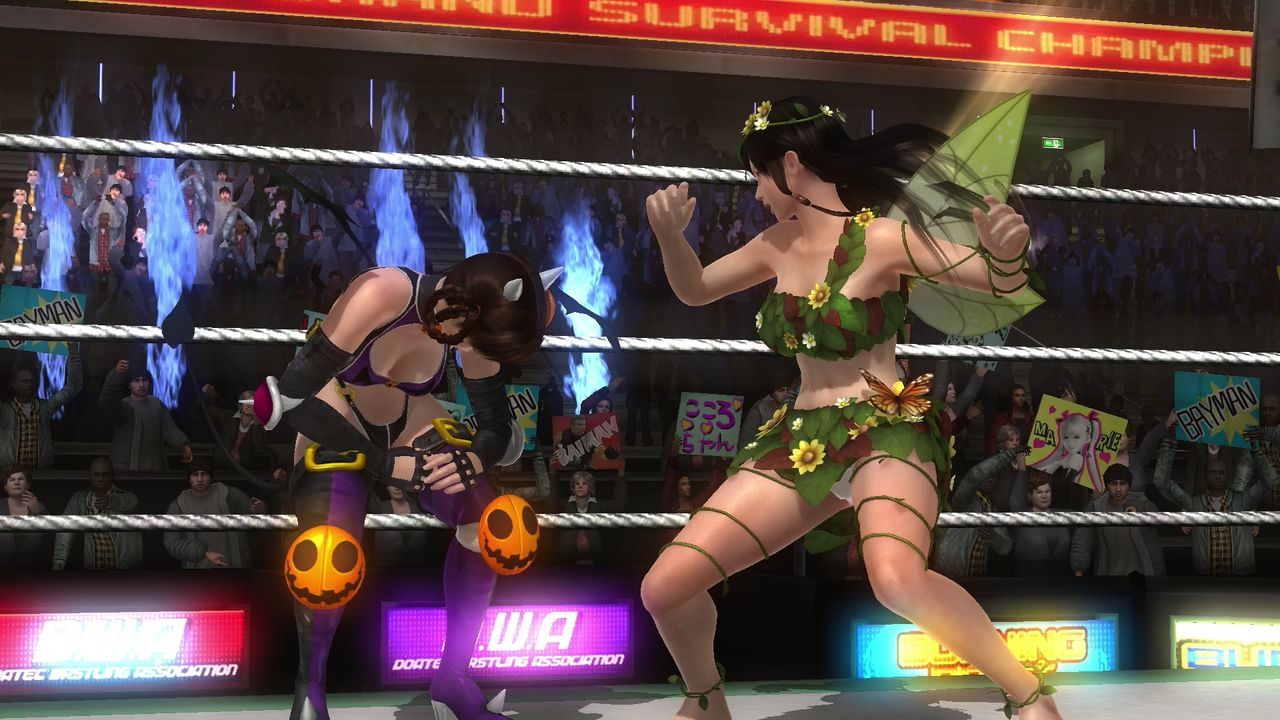 Dead or Alive 5 Last Round Gets Spooky with Halloween Costumes 49