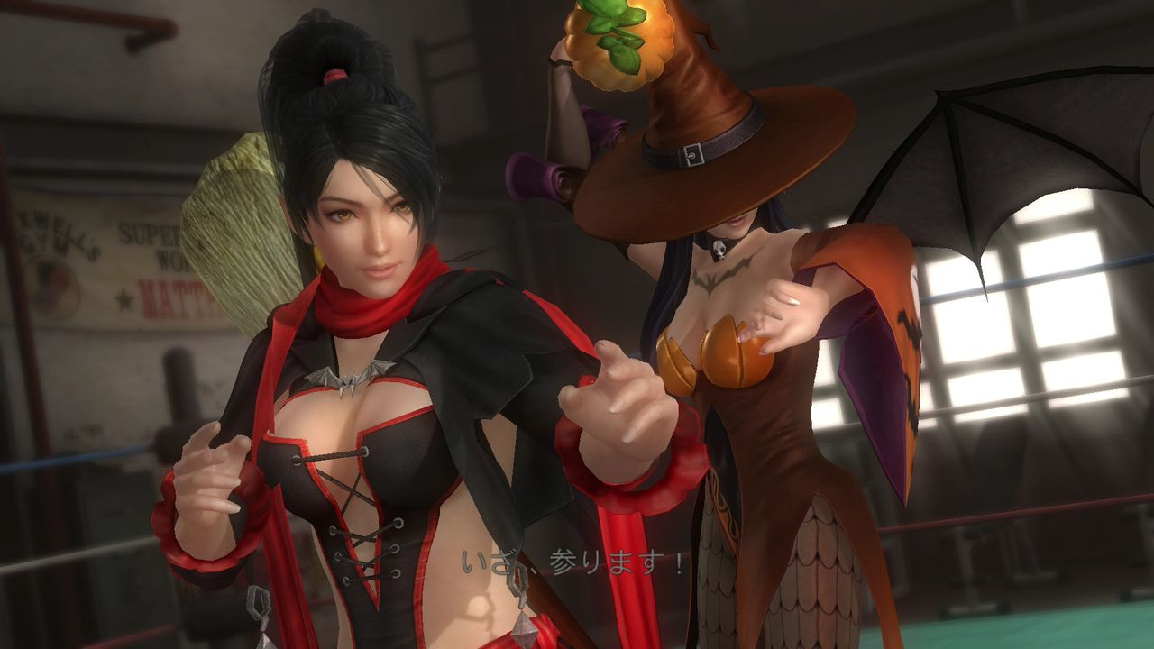 Dead or Alive 5 Last Round Gets Spooky with Halloween Costumes 66