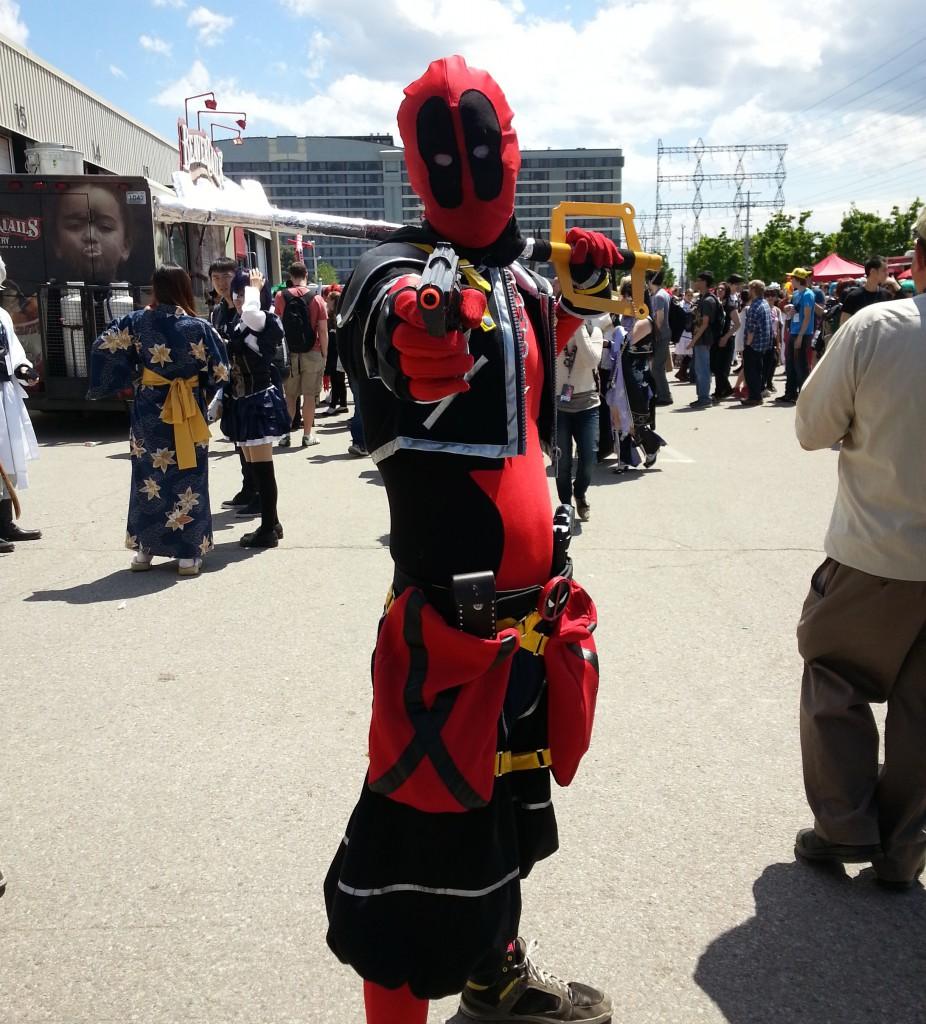 Behold; Deadpool the Keyblade wielder.