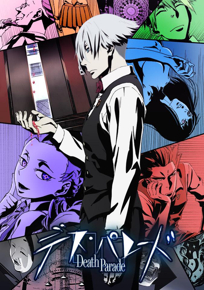 Death Parade Visual haruhichan.com Death Parade anime visual