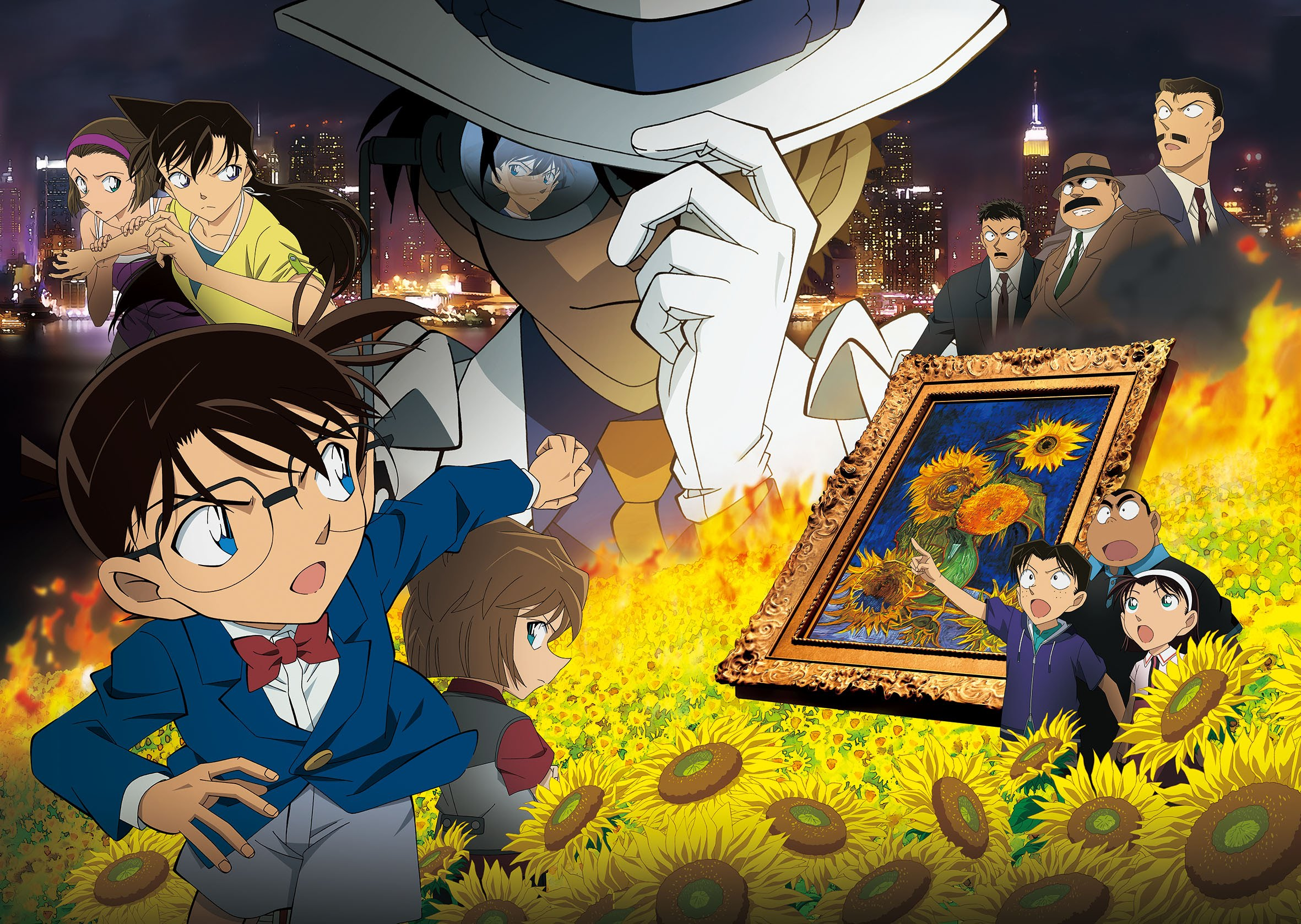 Detective Conan Movie 19 The Hellfire Sunflowers visual 2 haruhichan.com detective conan movie 19