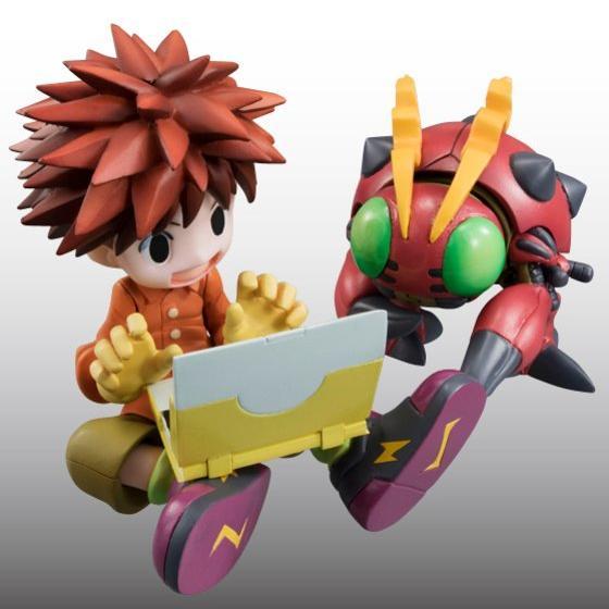 Digimon Adventure's Koushirou Izumi and Mimi Tachikawa Gets GEM Figures haruhichan.com Digimon Digital Monsters 01
