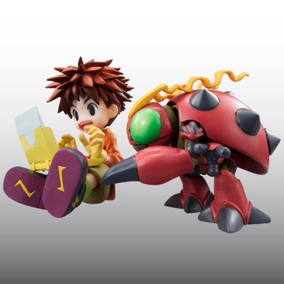 Digimon Adventure's Koushirou Izumi and Mimi Tachikawa Gets GEM Figures haruhichan.com Digimon Digital Monsters 02
