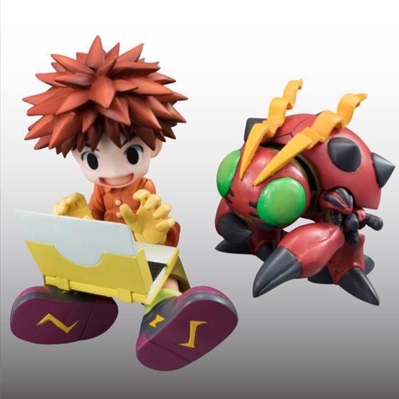 Digimon Adventure's Koushirou Izumi and Mimi Tachikawa Gets GEM Figures haruhichan.com Digimon Digital Monsters 04