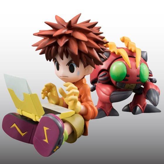 Digimon Adventure's Koushirou Izumi and Mimi Tachikawa Gets GEM Figures haruhichan.com Digimon Digital Monsters 06