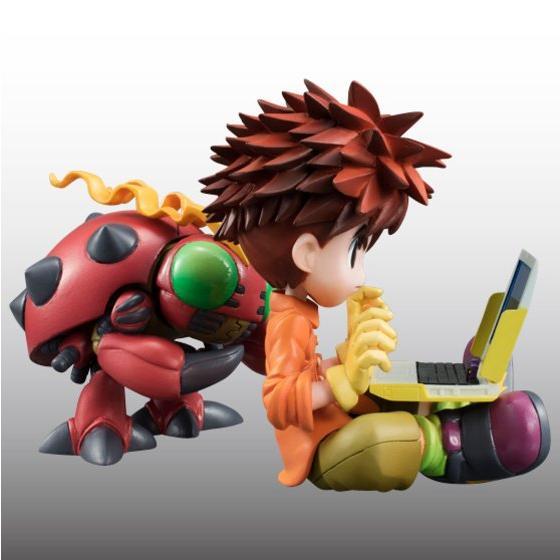 Digimon Adventure's Koushirou Izumi and Mimi Tachikawa Gets GEM Figures haruhichan.com Digimon Digital Monsters 07