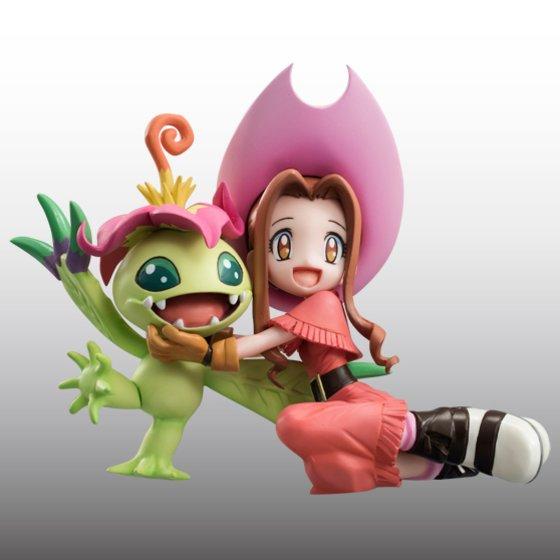 Digimon Adventure's Koushirou Izumi and Mimi Tachikawa Gets GEM Figures haruhichan.com Digimon Digital Monsters 09