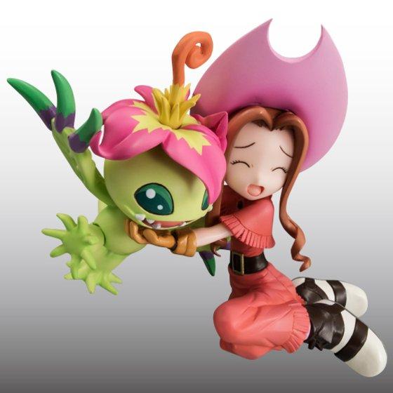 Digimon Adventure's Koushirou Izumi and Mimi Tachikawa Gets GEM Figures haruhichan.com Digimon Digital Monsters 10