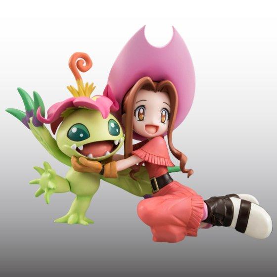 Digimon Adventure's Koushirou Izumi and Mimi Tachikawa Gets GEM Figures haruhichan.com Digimon Digital Monsters 14