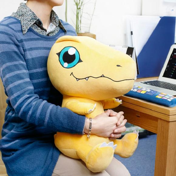 Digimon's Agumon PC Cushion Plush 5