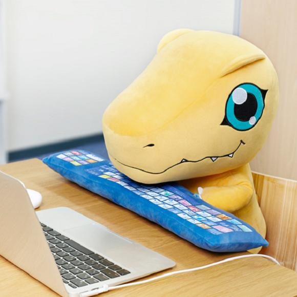 Digimon's Agumon PC Cushion Plush 6