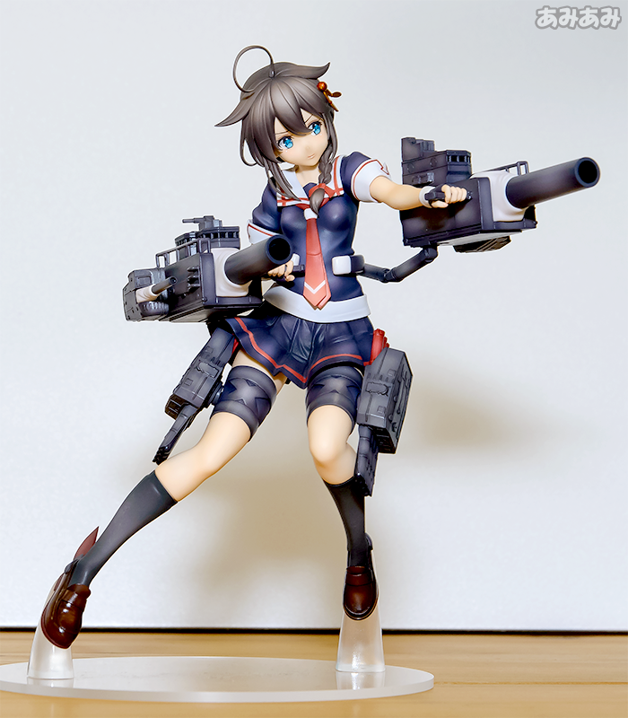 Display Your Favorite Ship Girl with New Shigure Figure Available This Fall 6