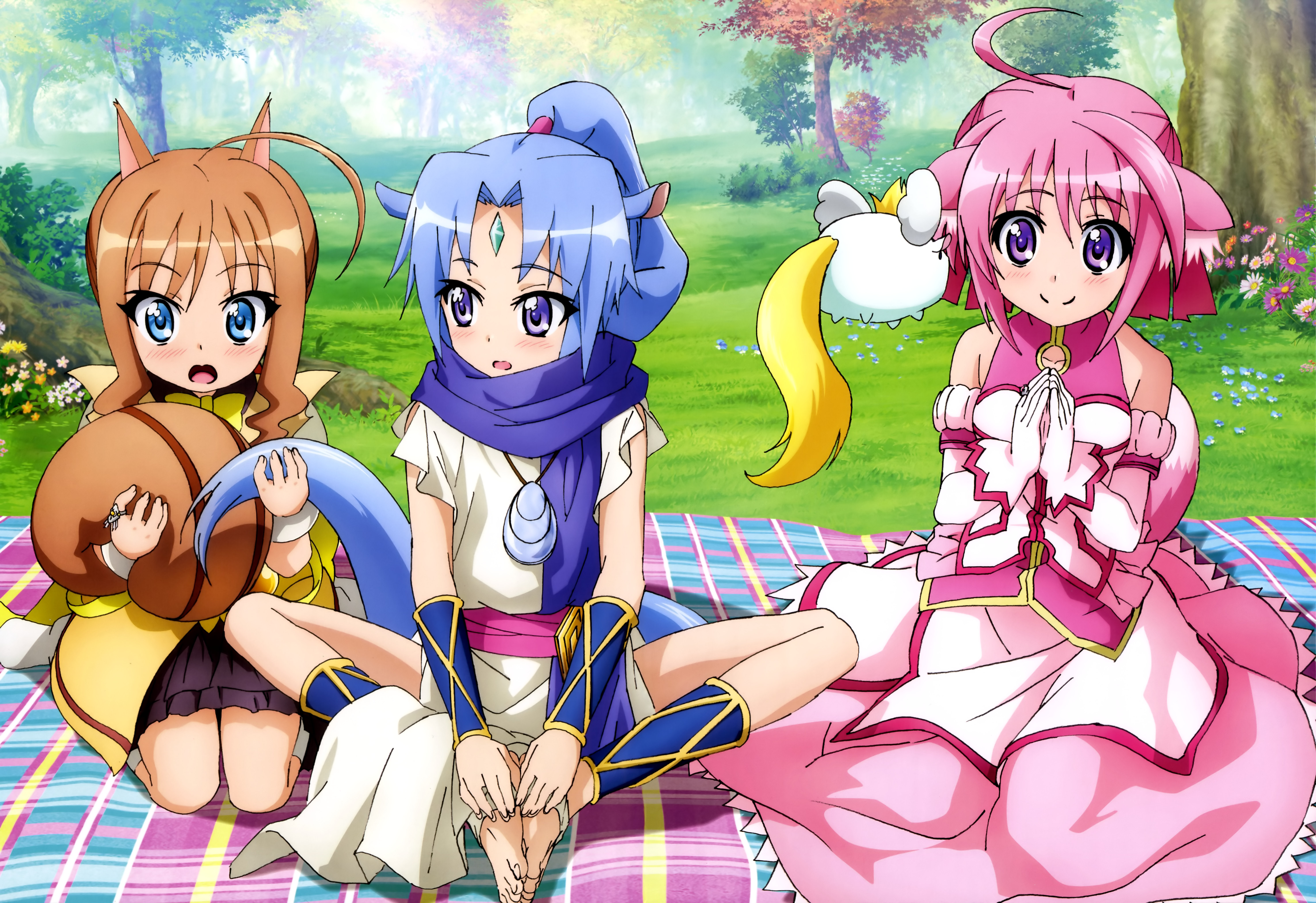 Dog Days 3 poster Haruhichan.com NyanType February 2015 article