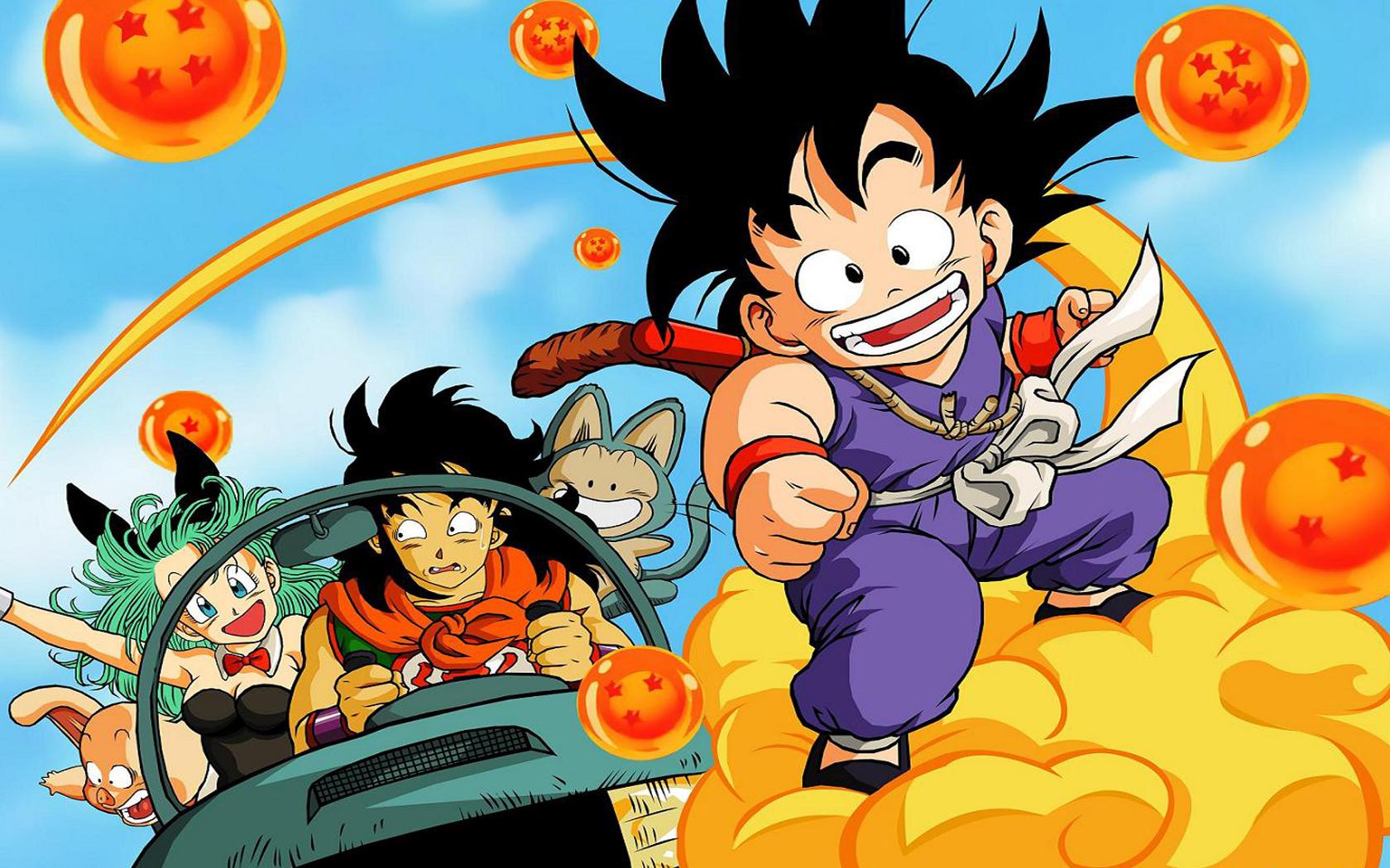 Dragon Ball anime visual