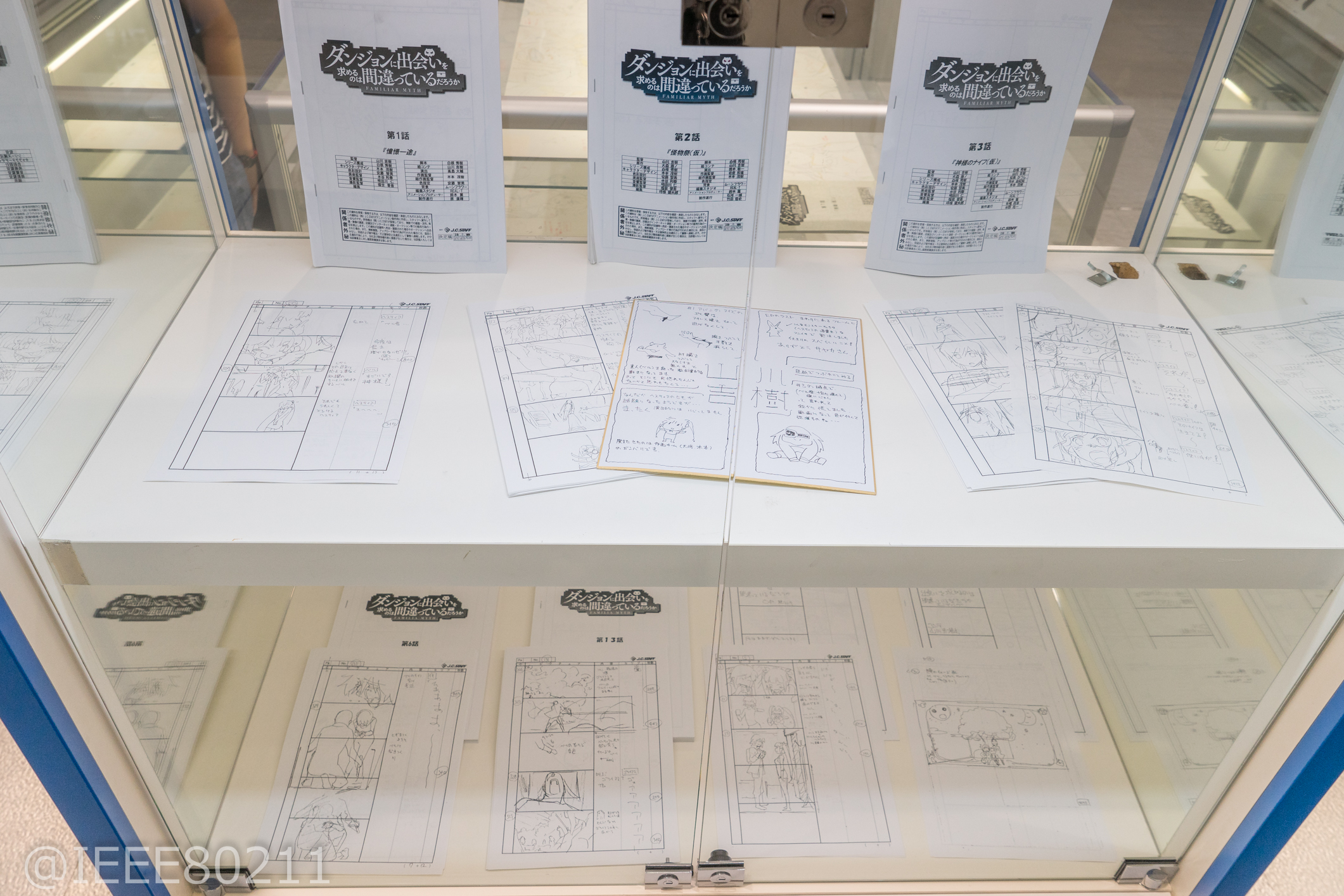 Dungeon ni Deai wo Motomeru no wa Machigatteiru Darou ka Danmachi Exhibition in Akiba Previewed 022