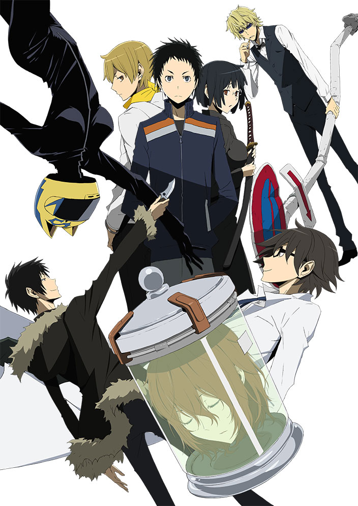 Durarara!!x2 Ketsu anime key visual