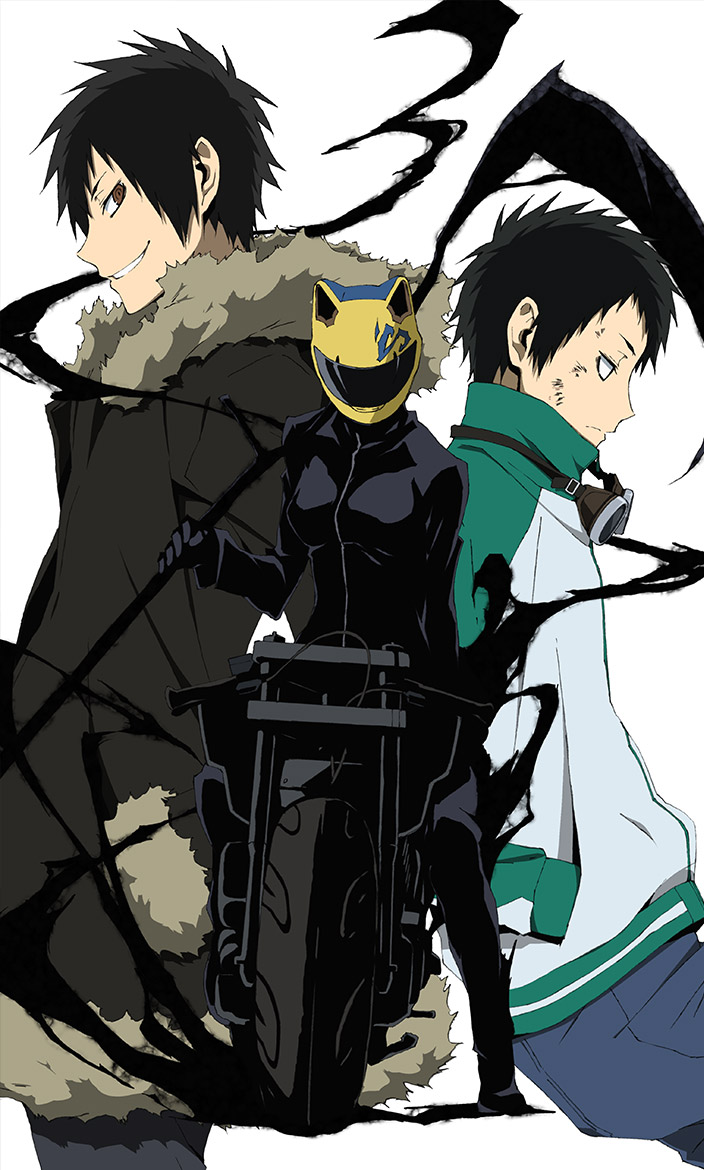 Durarara!!x2 Ten anime visual