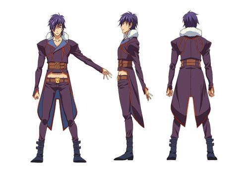 Endride anime character design 2