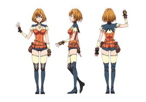 Endride anime character design 3