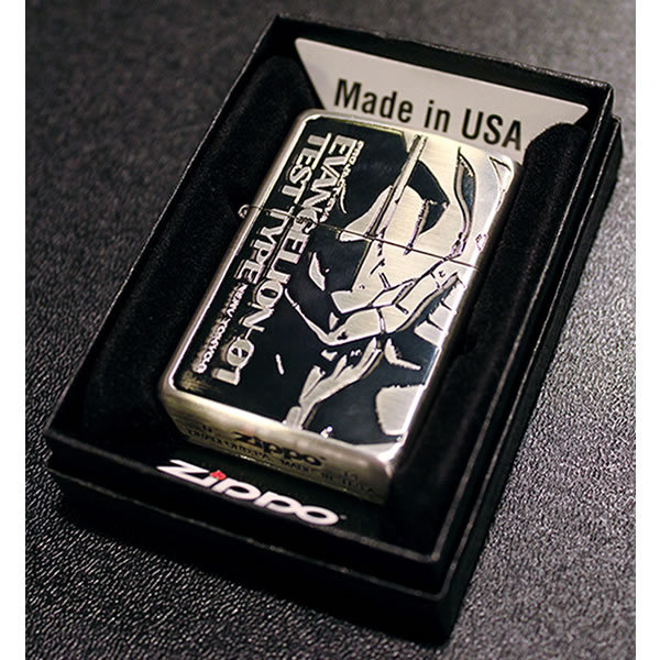 Evangelion Store Releases New Zippo Lighters of the Main Cast for 20th Anniversary 10