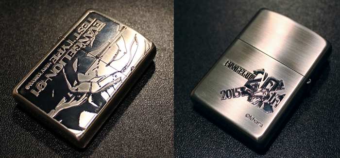Evangelion Store Releases New Zippo Lighters of the Main Cast for 20th Anniversary 6