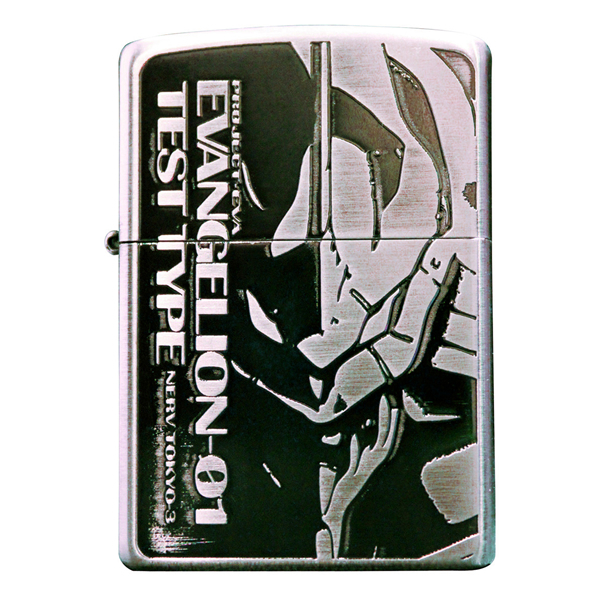 Evangelion Store Releases New Zippo Lighters of the Main Cast for 20th Anniversary 8