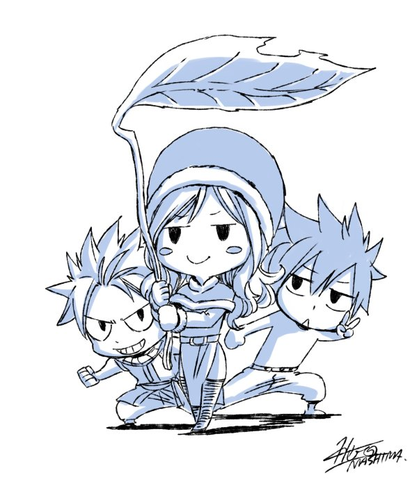 Fairy Tail's Author Hiro Mashima Forgot to Do a Sketch for April Fools' Day 2