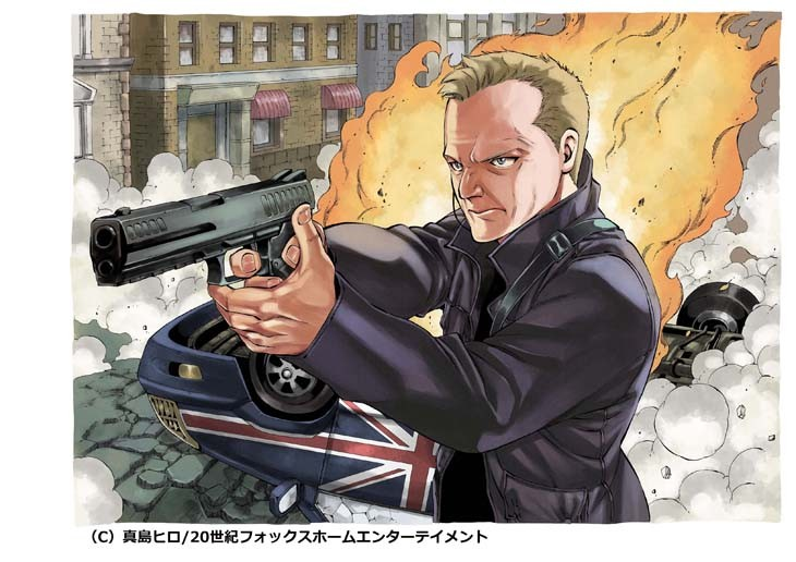 Fairy Tail Author Hiro Mashima Draws Jack Bauer from 24 Live Another Day haruhichan.com fairy tail author draws jack bauer