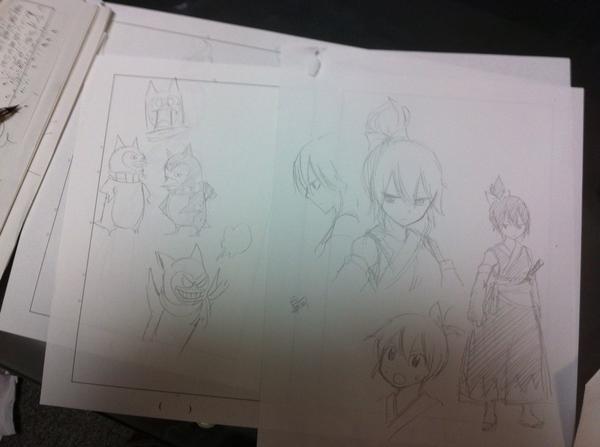 Fairy Tail Author Hiro Mashima One Shot Hoshigami no Satsuki Haruhichan.com manga