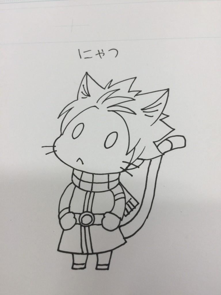 Fairy Tail Author Hiro Mashima Shares Lucy Heartfilia Christmas Illustration haruhichan.com Fairy Tail Hiro Mashima sketch 3