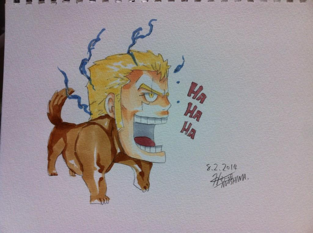 Fairy Tail Author Hiro Mashima Shares Summer Sketches on Twitter Laxus Dreyar haruhichan.com