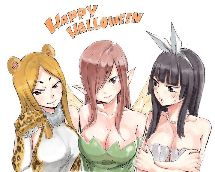 Fairy Tail Halloween Sketch 3