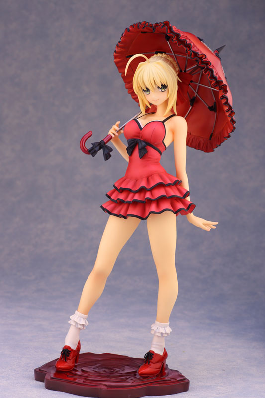 Fate EXTRA CCC Saber 1 7 scale anime Figure One-piece Dress ver 000
