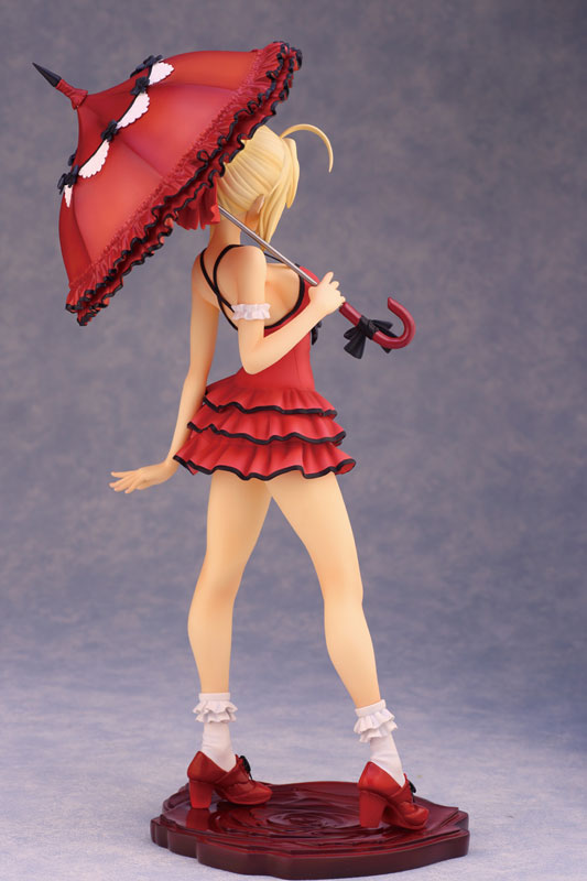 Fate EXTRA CCC Saber 1 7 scale anime Figure One-piece Dress ver 004