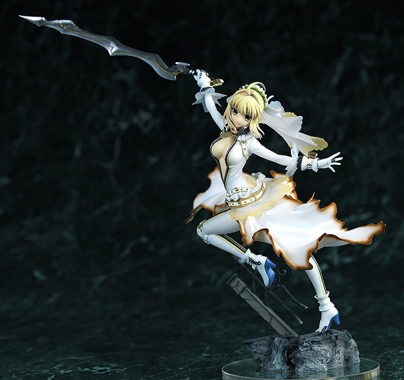 Fate EXTRA CCC Saber Bride Anime Figure 001