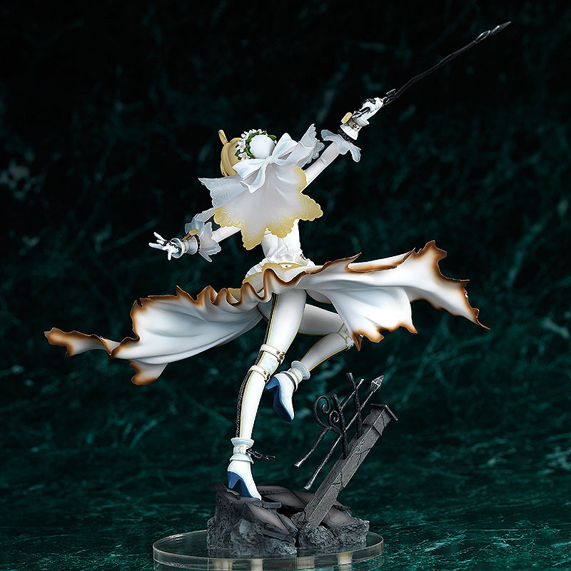 Fate EXTRA CCC Saber Bride Anime Figure 002