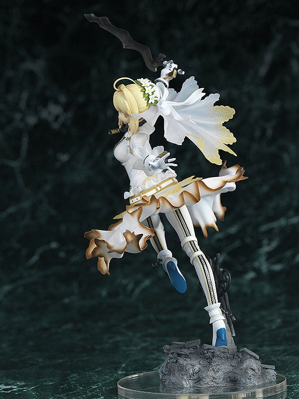 Fate EXTRA CCC Saber Bride Anime Figure 004
