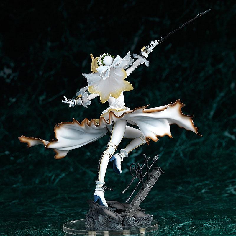 Fate EXTRA CCC saber bride 1 7 scale anime figure 002