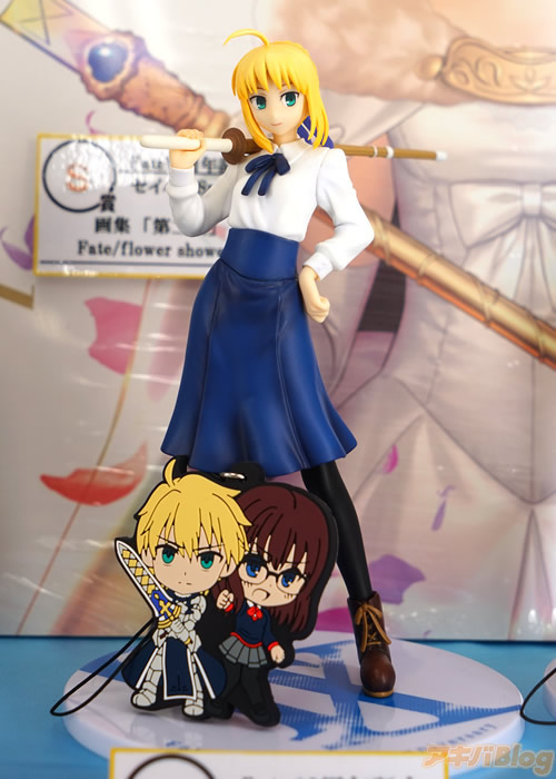 Fate Series Celebrates 10th Anniversary with a Ichiban Kuji Lottery Haruhichan.com anime C Prize Saber Casual ver. figure