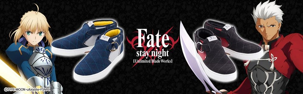Fate Stay Night Sneakers Go on Sale