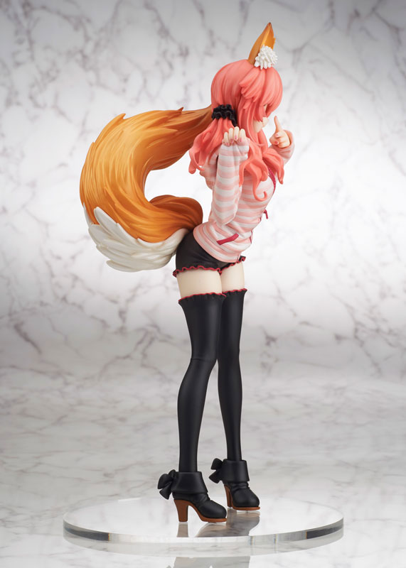 Fate_EXTRA CCC Caster anime Figure Casual Wear version 005