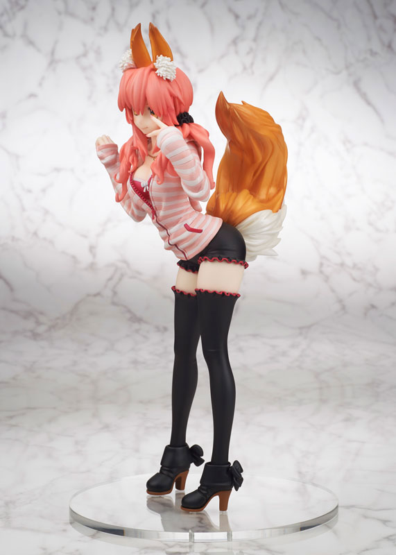 Fate_EXTRA CCC Caster anime Figure Casual Wear version 006