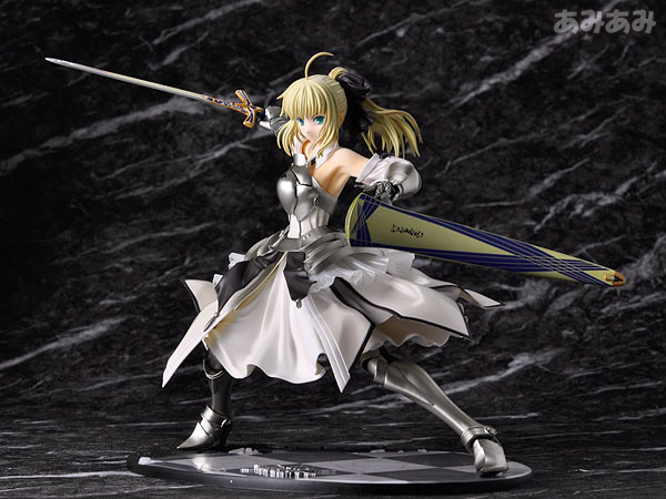 Fate_unlimited codes Saber Lily The Everdistant Utopia Avalon Anime Figure 0001
