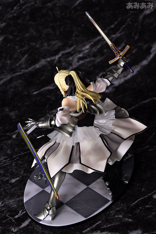 Fate_unlimited codes Saber Lily The Everdistant Utopia Avalon Anime Figure 0006